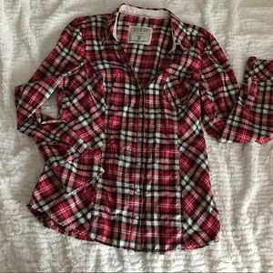Guess Long sleeve Plaid shirt